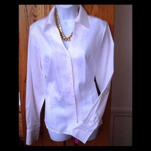Coldwater Creek white blouse size 14-16